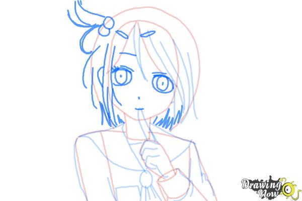 How to Draw Mayu Suzumoto from Corpse Party - Step 6