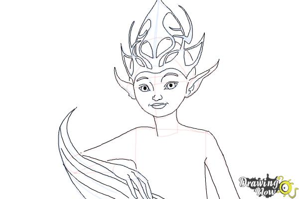 How to Draw Sugar Plum Fairy from