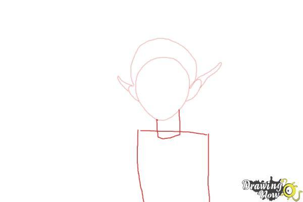 How to Draw Sugar Plum Fairy from Strange Magic - Step 3