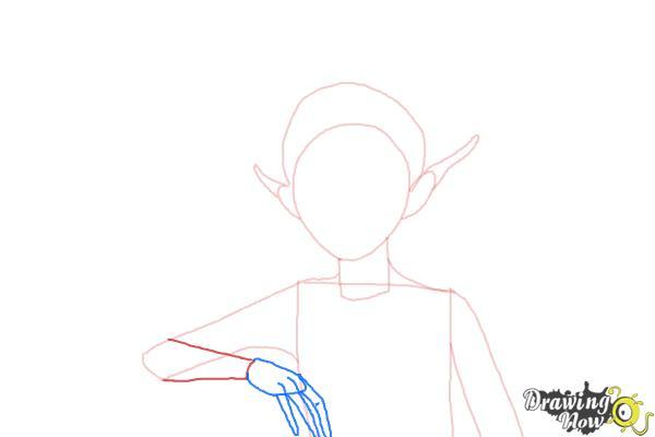 How to Draw Sugar Plum Fairy from Strange Magic - Step 5