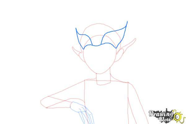 How to Draw Sugar Plum Fairy from Strange Magic - Step 6