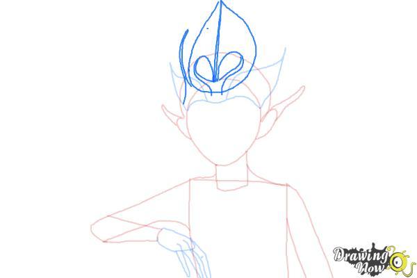 How to Draw Sugar Plum Fairy from Strange Magic - Step 7