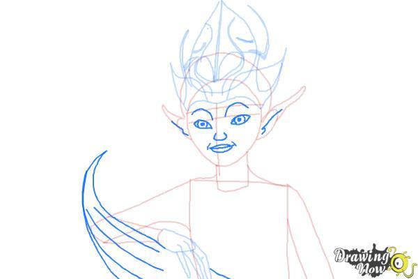 How to Draw Sugar Plum Fairy from Strange Magic - Step 9