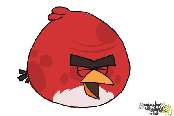 How To Draw Angry Bird Terence, Big Brother Bird
