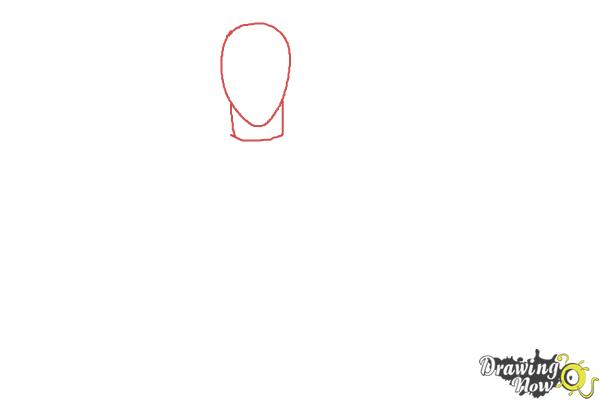 How to Draw Shuu Tsukiyama from Tokyo Ghoul - Step 1