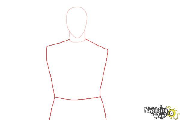 How to Draw Shuu Tsukiyama from Tokyo Ghoul - Step 2