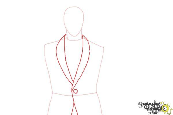 How to Draw Shuu Tsukiyama from Tokyo Ghoul - Step 3