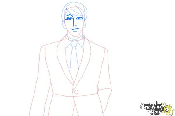 How to Draw Shuu Tsukiyama from Tokyo Ghoul - Step 6