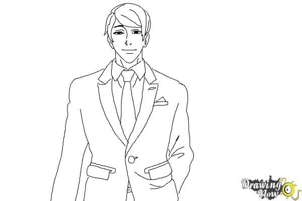 How to Draw Shuu Tsukiyama from Tokyo Ghoul - Step 8