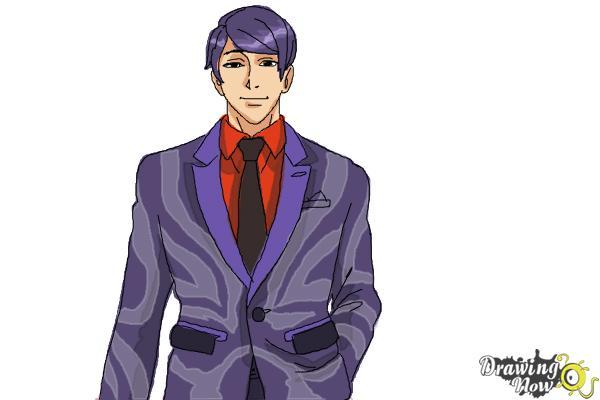 How to Draw Shuu Tsukiyama from Tokyo Ghoul - Step 9