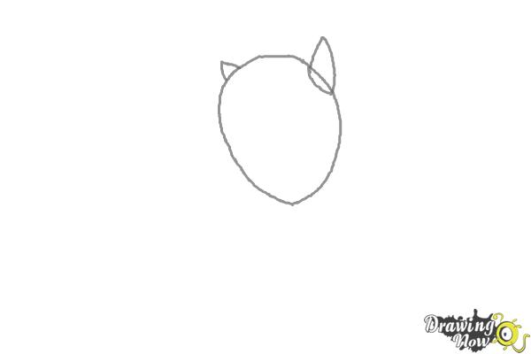 How to Draw Twilight Sparkle from My Little Pony Equestria Girls Friendship Games - Step 1