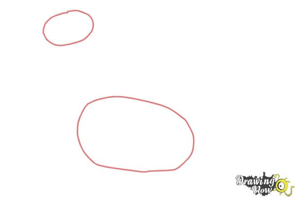 How to Draw Bronty from Doc Mcstuffins - Step 1