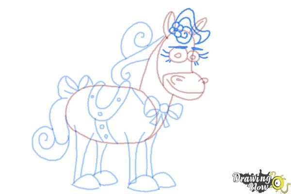 How to Draw Twinkle The Marvel Horse - Step 10