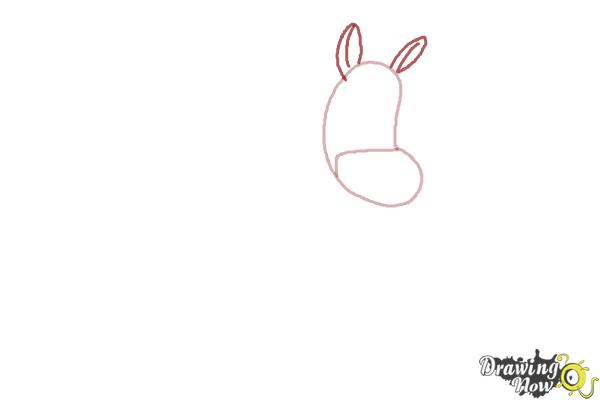 How to Draw Twinkle The Marvel Horse - Step 2