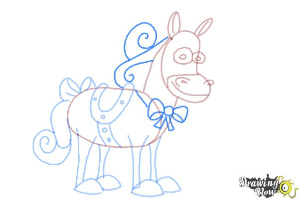 How to Draw Twinkle The Marvel Horse - Step 9