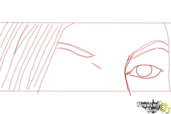 How to Draw Ruby Redfort - Step 4
