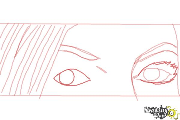 How to Draw Ruby Redfort - Step 5