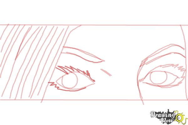 How to Draw Ruby Redfort - Step 6