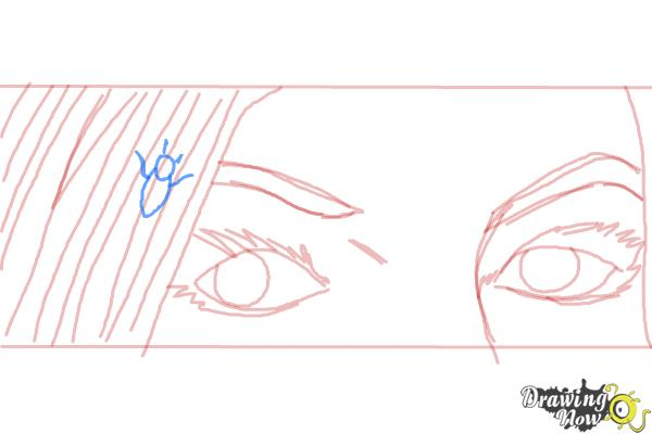 How to Draw Ruby Redfort - Step 7
