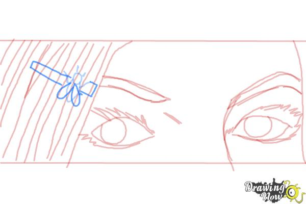 How to Draw Ruby Redfort - Step 8