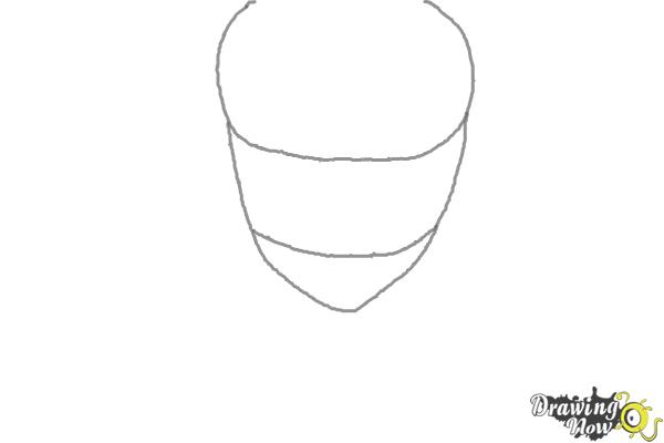 How to Draw Sting Eucliffe from Fairy Tail - Step 1