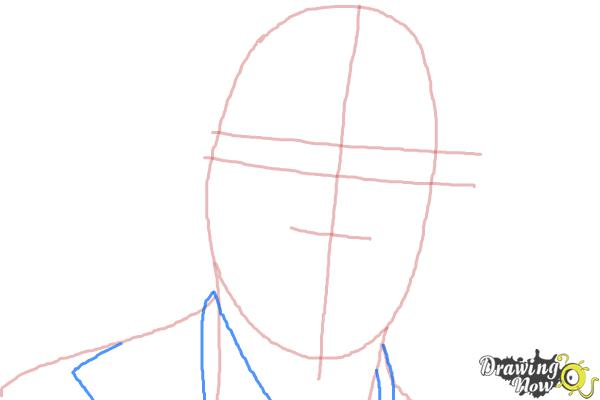 How to Draw Bruce Jenner - Step 3