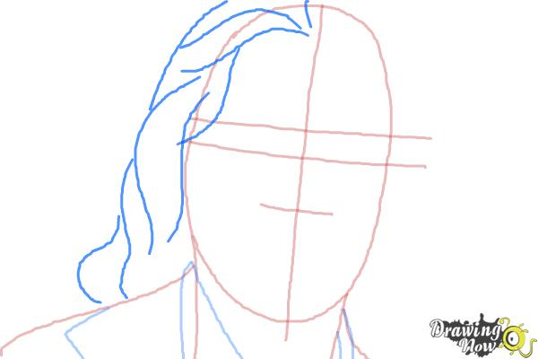 How to Draw Bruce Jenner - Step 4