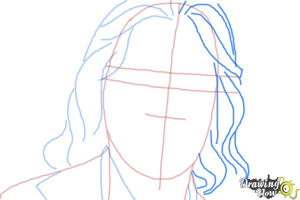 How to Draw Bruce Jenner - Step 5