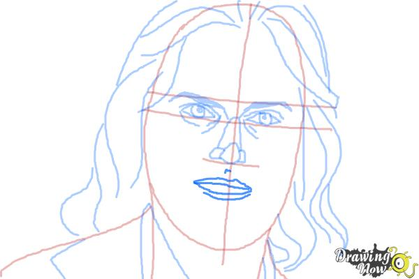 How to Draw Bruce Jenner - Step 8