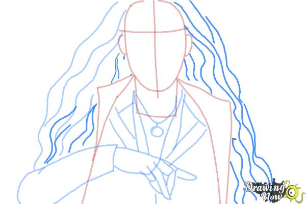 How To Draw Scarlet Witch From Avengers Age Of Ultron Drawingnow