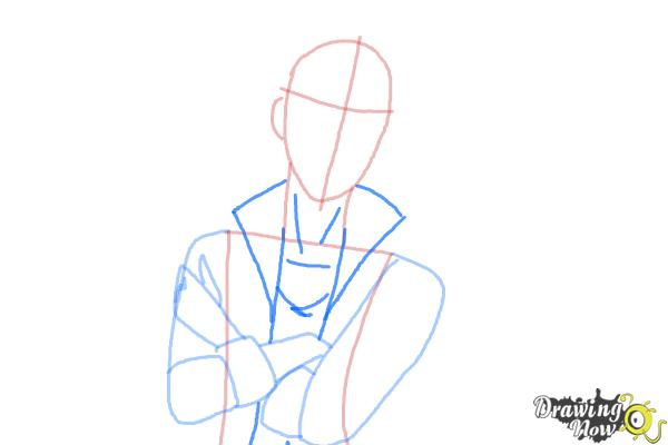How to Draw Alistair Wonderland The Son Of Alice from Ever After High - Step 5