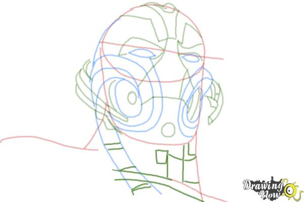 How to Draw Ultron from Avengers: Age Of Ultron - Step 8