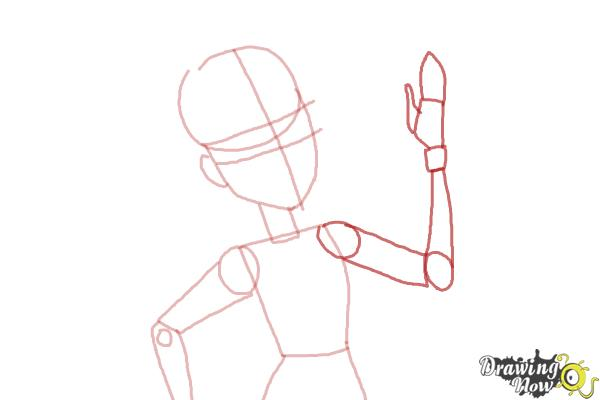How to Draw Elle Eedee from Monster High - Step 5