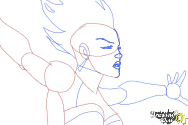 How to Draw Storm 2015 from Marvel - Step 9