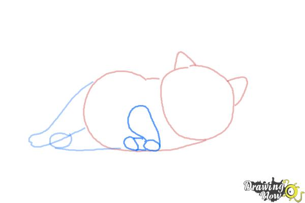 How to Draw Mochi from Big Hero 6 - Step 4