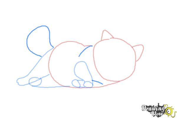 How to Draw Mochi from Big Hero 6 - Step 5