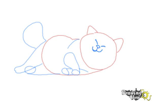 How to Draw Mochi from Big Hero 6 - Step 6