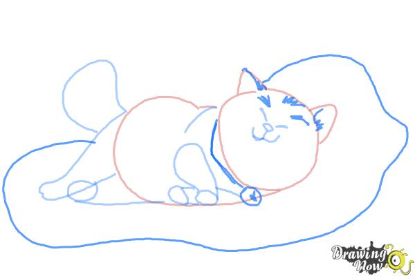How to Draw Mochi from Big Hero 6 - Step 7