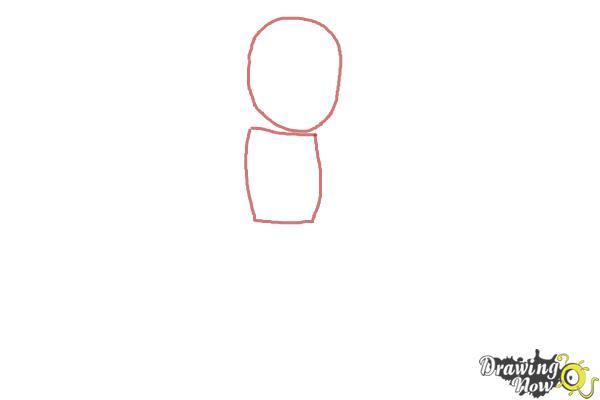 how to draw chhota bheem step 1