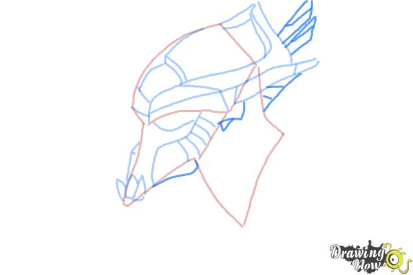 How to Draw Artanis from Starcraft - Step 5