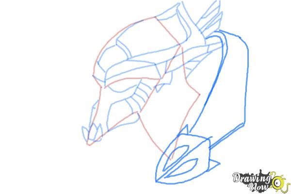 How to Draw Artanis from Starcraft - Step 6