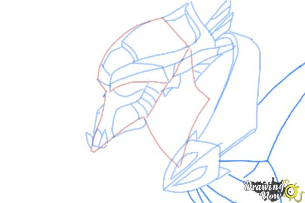 How to Draw Artanis from Starcraft - Step 7