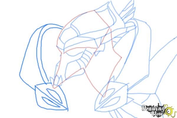 How to Draw Artanis from Starcraft - Step 8