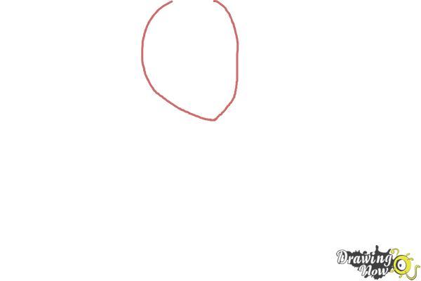 How to Draw Homura Akemi from Puella Magi - Step 1
