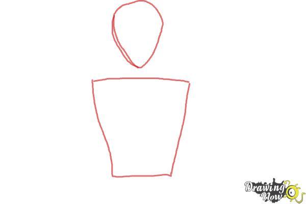 How to Draw Voltkatze, Boyacky from Yoru No Yatterman - Step 1