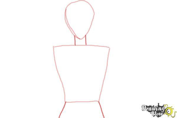 How to Draw Voltkatze, Boyacky from Yoru No Yatterman - Step 2