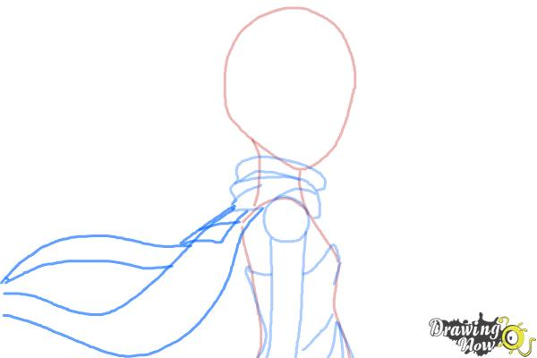 How to Draw Leopard, Doronjo from Yoru No Yatterman - Step 5