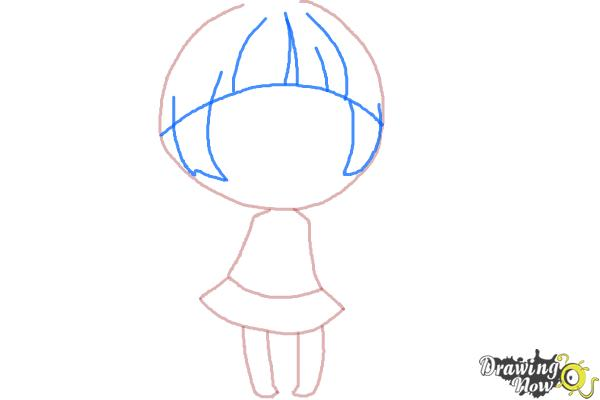 How to Draw a Chibi Girl - Step 5