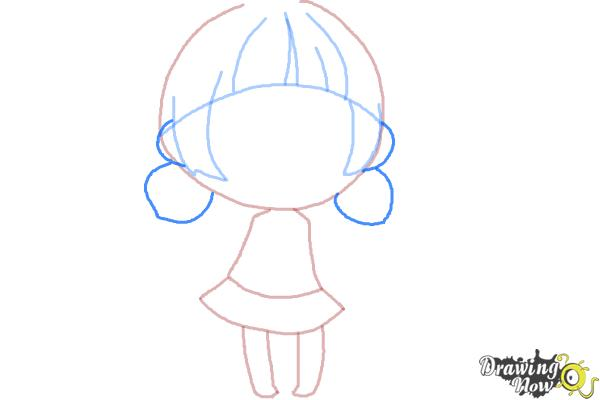 How to Draw a Chibi Girl - Step 6