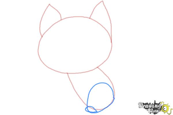 how to draw a cat step by step with pictures